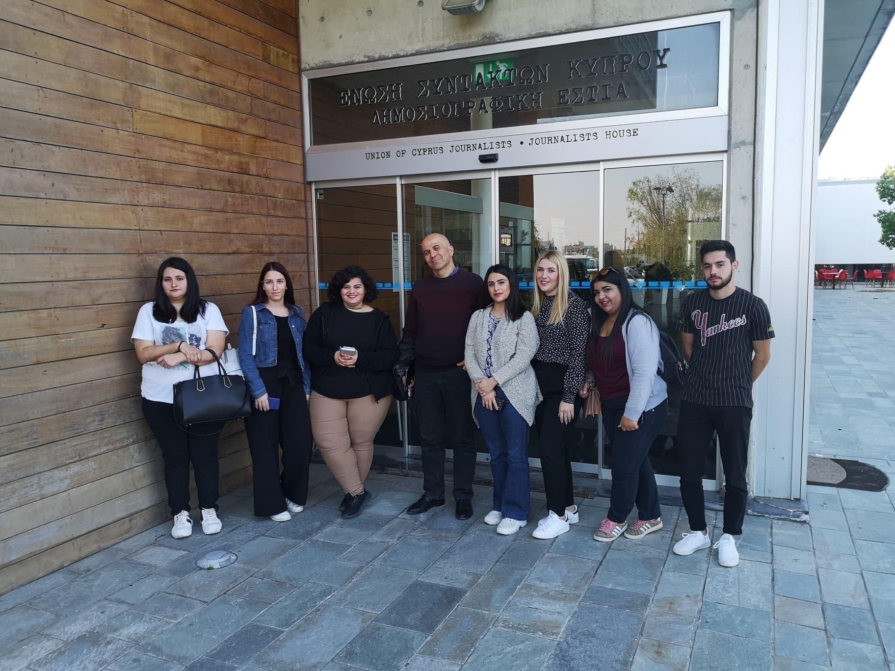 Μαθητές και προσωπικό του ΔΙΕΚ Σερρών στην Λεμεσό